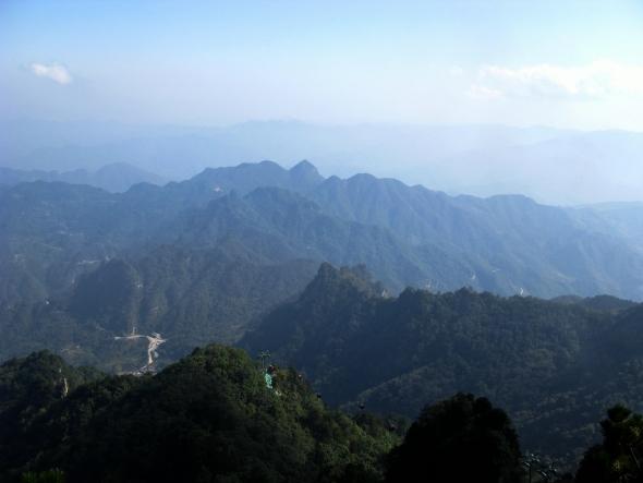 Wu Dang Mtn 湖北武當山 景