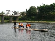 Yong River Rafting, 永川泛竹