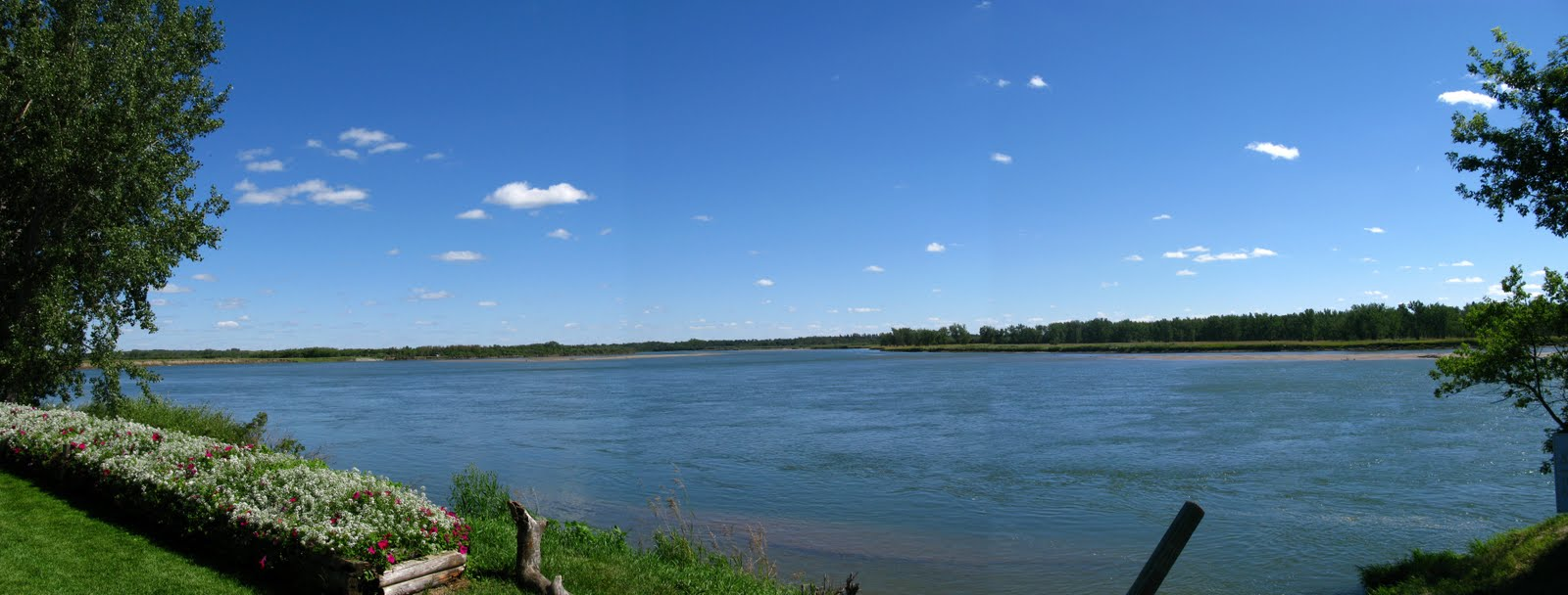 Sourth Sask River at Berry Farm