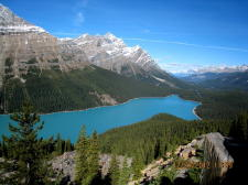 Photos from schoolmates touring Rockies