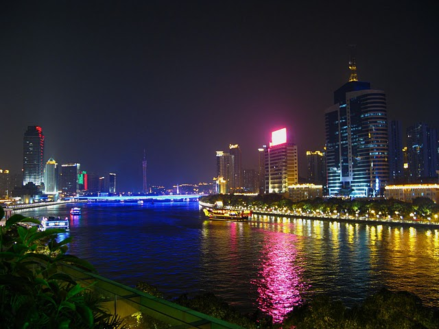 Pearl  River  A Sparkling Night Pearl 璀璨夜珠
