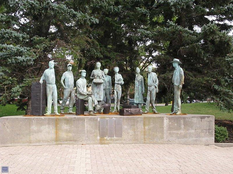 Immigrant Statues