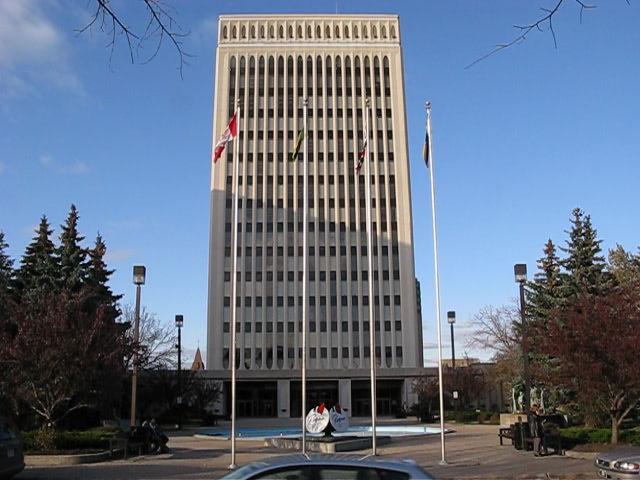 City Hall south entrance