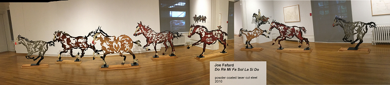 Click to Joe Fafard's recent works